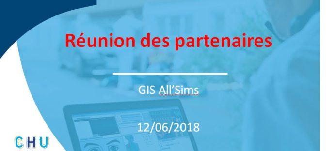 Les directions du CHU d'Angers et de l'Université d'Angers convient les partenaires du centre de simulation All'Sims