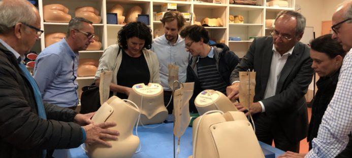 Découverte de la simulation en santé par les entrepreneurs Lauréats du Réseau Entreprendre Mainte et Loire