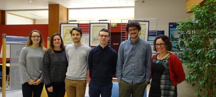 Cinq nouveaux étudiants en médecine en stage au centre de simulation