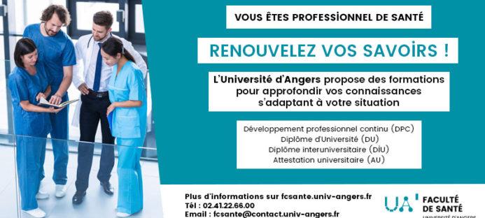Prochaines formations en simulation proposées par l'Université d'Angers