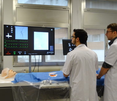 Entrainement au cathétérisme dans le cadre de la formation initiale des jeunes radiologues