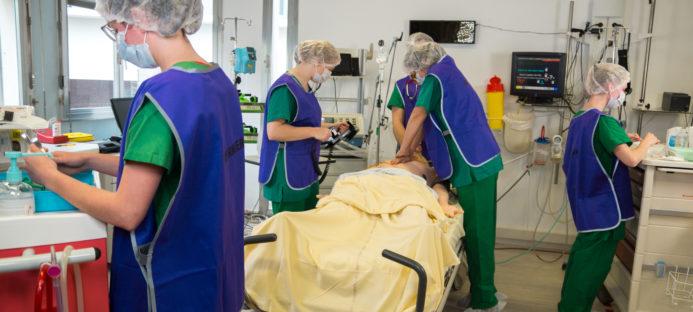 Simulation haute fidélité Anesthésie réanimation