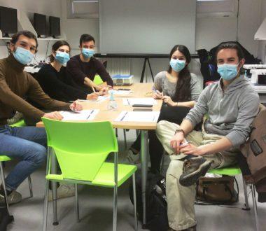 Nouveaux étudiants en médecine en stage d'externat