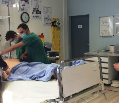 Mise en situation des docteurs juniors SAU