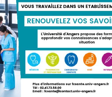 Formation en éducation thérapeutique / Université Angers